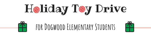 Holiday Toy Drive for Dogwood