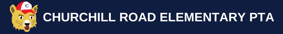 Churchill Road Elementary PTA logo